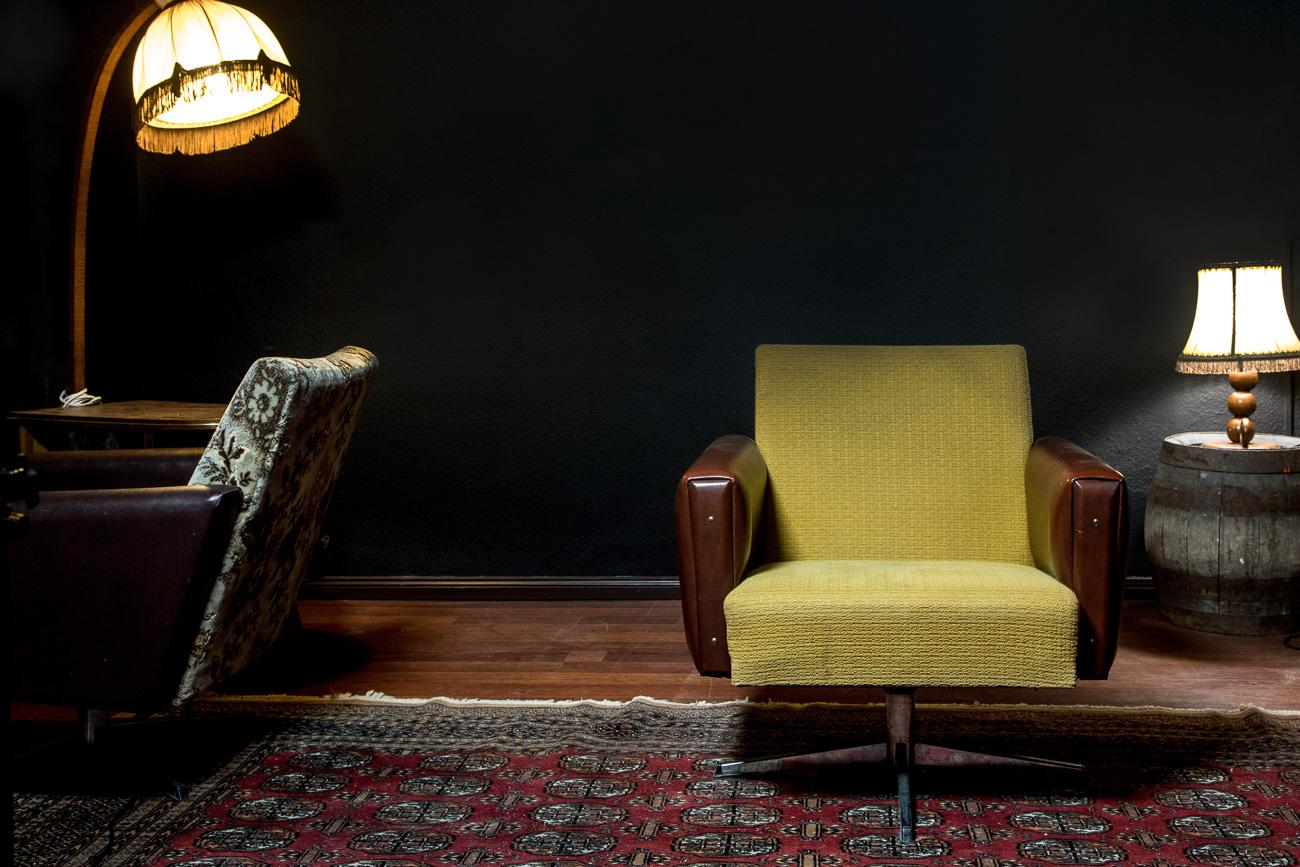 70er Jahre Retro Sessel Handmade Manufaktur